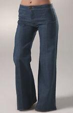 NWT GREY ANT 2 denim blue Jeans wide flare boot cut dark wash bell bottom Boho