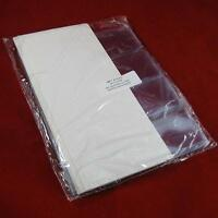 """200 2.25/"""" x 2.25/"""" FAC #18 Double Pocket Vinyl Coin Flips without Inserts"""