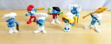 Smurf Figures Lot of 7 Peyo McDonalds Toy PVC Collectibles Cake Toppers 2011