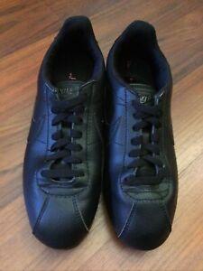 Nike Women's Cortez Classic, Black On Black, Size 8