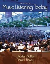 Music Listening Today (with Digital Music Download Printed Access Card for the