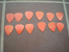 12 Planet Waves Celluloid Guitar Picks 0.61 mm Orange