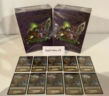 Bundle World of Warcraft Landro's Gift and Magtheridon's Lair Deck Sealed - Spec