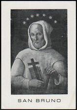 "santino-holy card""S.BRUNO"