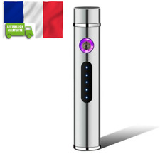 Electronic USB Recharge Cigarette Smoking Double Plasma Arc Lighter Windproof