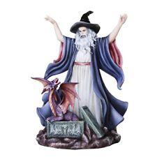 Wizard Summoning Dragon Figurine