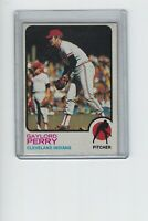 GAYLORD PERRY 1973 Topps Baseball # 400 Cleveland Indians HOF EX