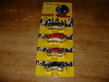 Ertl Dick Tracy Full Set Police Tracy's Tess's Itchy's Car Still On Cards 1990