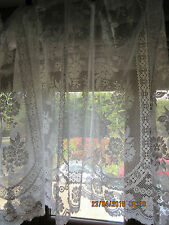 Vintage Net Curtain Bundle for Victorian/Edwardian House approx 36in drop