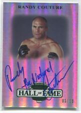 2012 Randy The Natural Couture Press Pass Legends AUTO HALL OF FAME /10 HOF NRMT