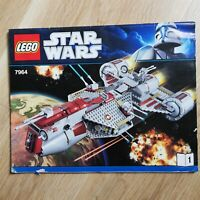 LEGO - INSTRUCTIONS BOOKLET ONLY Republic Frigate - Star Wars - 7964