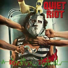 Quiet Riot Condition Critical Banner Huge 4X4 Ft Fabric Poster Flag Tapestry art