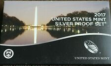 2017-S Silver Proof Set With COA and Orginal Mint Packaging -Unopened