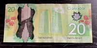 2012 BANK OF CANADA $20 REPEATED & RADAR **1410141** - Macklems-Poloz- V.F Cond!