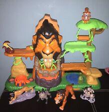 Disney Lion Guard Rise Of Scar Playset with Lights & Sounds + 4 Figures Janja