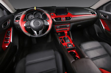 14PCS new Red Car Interior decoration kit Cover Trim For Mazda 6 M6 Atenza 2017