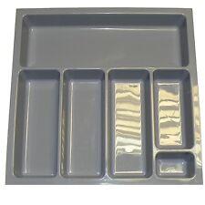 Quality Plastic Cutlery Trays Kitchen Drawers Blum Tandembox Inserts 500mm (414x422x58mm)