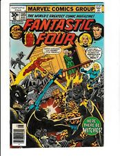 FANTASTIC FOUR #185 (VF/NM) Witches of New Salem Appearance! George Perez Art!