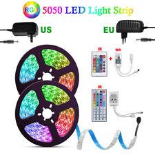 1~10M 5050 RGB LED STRIP LIGHTS FLEXBILE TAPE LIGHTING WIFI IR CONTROLLER 12V