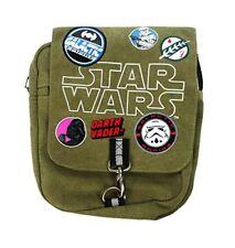 Licencia oficial Niños Star Wars parches lona bolso cruzado
