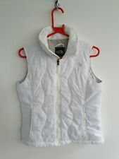 The North Face White Womens Gilet Vest Size Small Insulated Thermal