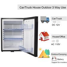 Smad 1.4 cu ft 12 V 110V Fridge Freightliner Cascadia Semi Truck Refrigerator