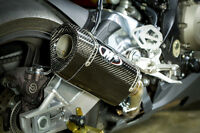 M4 Exhaust BMW S1000RR 2015 2016 Slip on with TECH ONE CARBON muffler