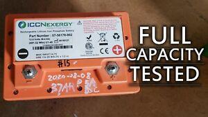 12V LiFePO4 38.4Ah Lithium Iron Phosphate Battery U1-40 FULLY TESTED, ICCNexergy