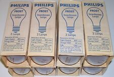 New listing 60 Watt 130 Volt Philips Frosted Incandescent A19 Light Bulbs Lamps 8 - 2 Packs