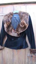 Manteaux et vestes noire en fourrure pour femme