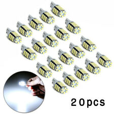 12V Car LED White Backup Reverse Light Bulbs Map Dome Lamp 6000K For RV Trailer