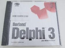 Francais Borland Delphi 3 French Pour Windows 95 et NT HDB1330FR10180 BOR8953