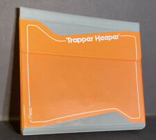 Vintage Mead Trapper Keeper #26001 Orange Mead 3-Ring Notebook Used With Flaws