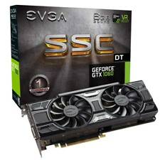 EVGA GeForce GTX 1060 SSC DT GAMING, 6GB GDDR5, ACX 3.0 & LED, 06G-P4-6265-KR