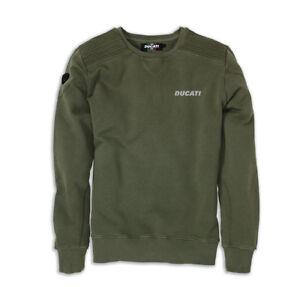Ducati Metropolitan AW13 Sweater Sweatshirt Green Limited New