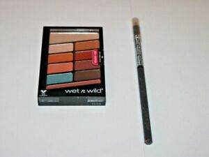 WET N WILD COLOR ICON Eye Shadow Palette #760  + Eyeliner #655  Lot Of 2 Sealed