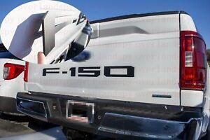 F150 Flat Black Rear Tailgate Lettering Emblem Badge Fit 2021 Ford F-150