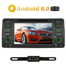 Android 8.0 Autoradio GPS DVD OBD2 4K Video Bluetooth USB Für BMW E46 M3 +Kamera