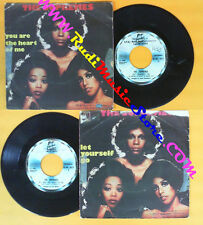 LP 45 7'' THE SUPREMES You are the heart of me Let yourself go 1976 no cd mc dvd