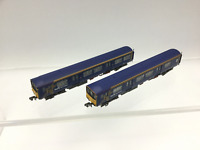 Graham Farish 371-325 N Gauge First North Western Class 150 150144 (NEEDS ATTN)