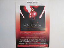 Madonna I'm Going to Tell You A Japan Promo Poster from Warner Music Japan 2006