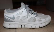 Nike Free Run 2+ Women Gray/White running athletic Shoes Sz: 9