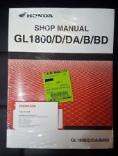GENUINE OEM HONDA 2018 GL1800 D-DA-B-BD GOLDWING MOTORCYCLE MECHANIC SHOP MANUAL