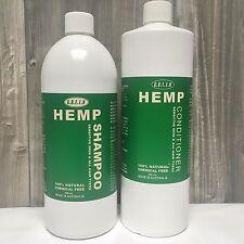 Hemp Shampoo & Conditioner 1L Pack - for Sensitive Skin - by G.R.E.E.N Hemp