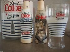 RARE Jean Paul GAULTIER COCA COLA 250ml Diet Coke LTD ED GIFTSET FULL Bottles