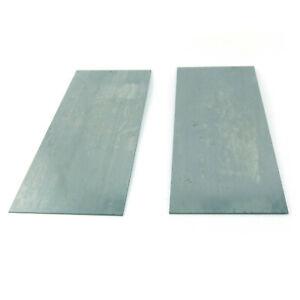 2x B-Ware Schreiner Ziehklinge 150 x 65 mm Schrankschaber Schäler Stärke 1 mm