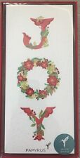 Papyrus Boxed Christmas cards. Joy. 16 Count w/ env
