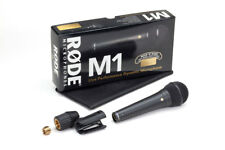 Rode M1 Dynamic Handheld Microphone-Free 20' XLR cable!