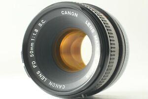[Mint] CANON FD 50mm f/1.8 S.C. SC MF Lens for AE-1 A-1 From JAPAN