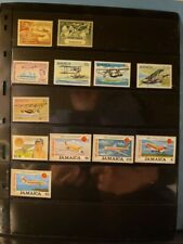 Jamaica Aircraft & Aviation Stamps Lot of 12 - MNH  - See List for Details